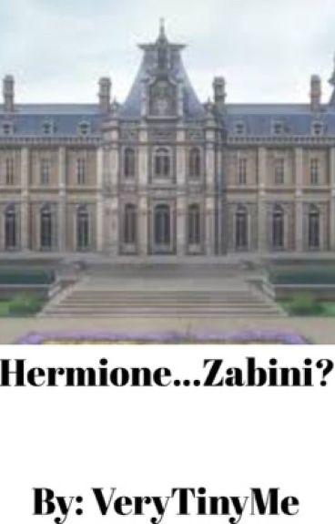Hermione...Zabini? (DraMione)