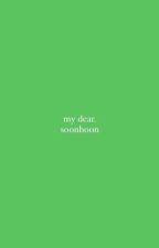 my dear ➳ soonhoon [done] by woozistic