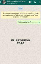 Whatsapp Terror ||Que Empiece El Juego|| by CuervaEscritora22