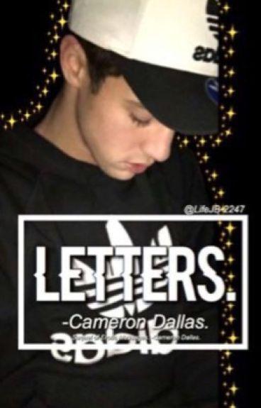 Letters. -Cameron Dallas.