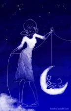 el gato y la luna by lapoeta13