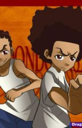 The Boondocks ( Riley x Oc and Huey x Oc ) by tomboygirl1