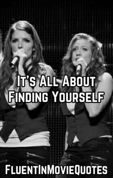 It's All About Finding Yourself