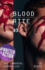 Blood Rite     b o o k 3 by -SarahCorner-