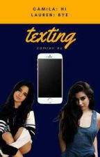 texting // camren by troublejunkie