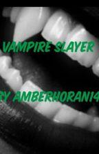 Vampier slayer by AmberHoran14