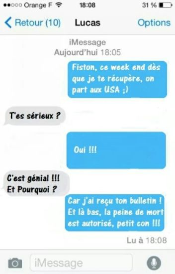 Sms ( Humour, Clash...)