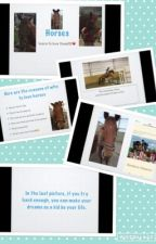 Horses, horses, and more horses! My equine journal! by Lovehrses4ever