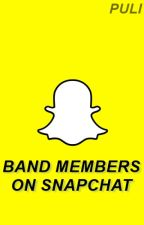 Band members on Snapchat. by SkittleAcido