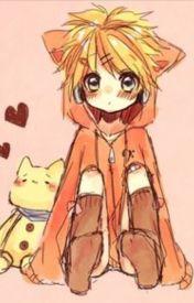 Various Male Vocaloid X Reader - Bunny Kaito X Neko Reader |Heat In