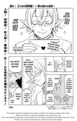 Nanatsu No Taizai Love Letter Helbram X Reader