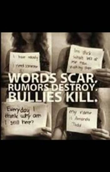 Stop Bullying Quotes BlueBurningHeart60 Wattpad Gorgeous Stop Bullying Quotes