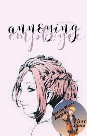 Annoying Employee •SasuSaku• by potatoejung_