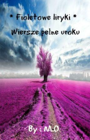 Fioletowe Liryki Wiersze Pełne Uroku Płatki