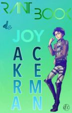 Rant-book De Joy Ackerman by joykookie-