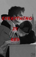 Everything is red ||Spideypool|| by OtraMalfoy