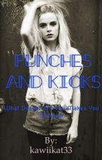 Punches and kicks by kawiikat33
