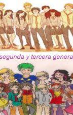 La primera, segunda y tercera generacion juntas (Harry Potter) by MortifagaLove
