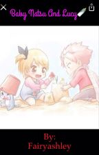 Baby Natsu and Lucy  by Fairyashley