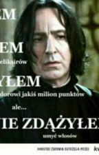 Severus Snape I Szampon Tajemnic  by schabowy-