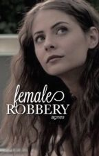 female robbery ➸ spencer reid  by violetharmcn