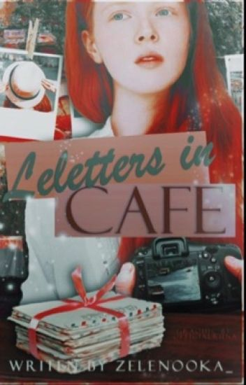 Letters in cafe