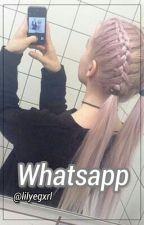 Whatsapp ; lesbian by lilyegxrl