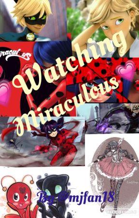 ❤️Watching miraculous ladybug❤ -