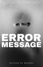 error message | Manu Rios  by virag07