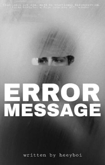 error message | Manu Rios