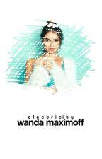 electricity ° wanda maximoff by phantomaly