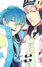 Noiz X Aoba (Dramatical Murder) by HiddenHealer123