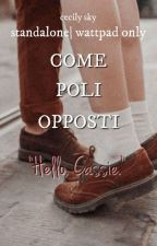 Come poli opposti. by evelyninthesky