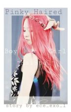 pinky haired boy & girl ° kaistal by shitmonday__