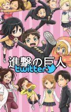 Shingeki no kyojin ¡Twitter!  by fflora
