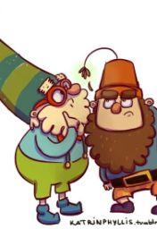 Dwarfs With Hats  by DocxGrumpy