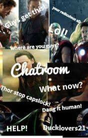 Chatroom. (avengers x reader)