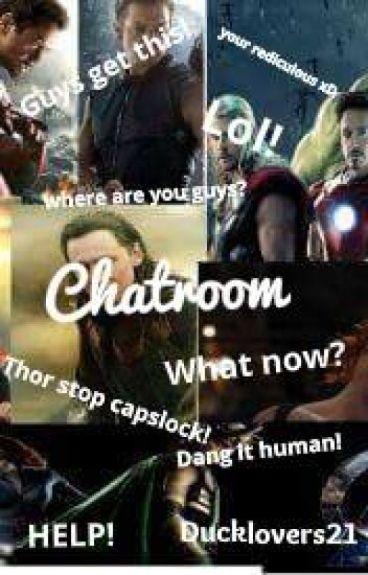 Chatroom. (avengers x reader)