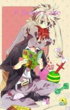 A sweet cake  by kary_leg