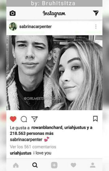 Sabrina Carpenter Y Uriah Shelton ( Instagram )