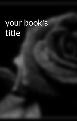 your book's title