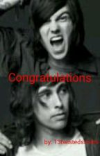 Congratulations (A Sleeping with Sirens/Pierce the Veil fanfic) by 13twistedsmiles