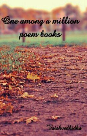 One Among A Million Poem Books by vaishVV