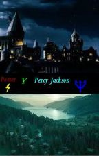 Leyendo Percy Jackson y Harry Potter by Kishimoto8