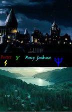 Leyendo Percy Jackson y Harry Potter by Kishimoto8