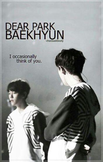 Dear Park Baekhyun