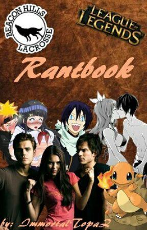 Rantbook by ImmortalTopaZ