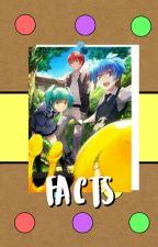 Facts ➵ Ansatsu Kyoushitsu. by -raiton