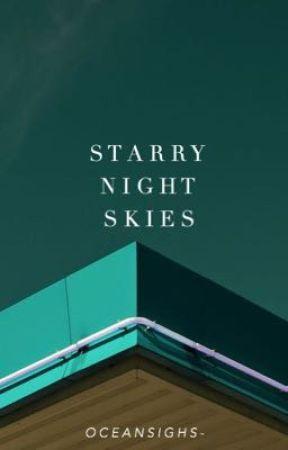Starry night skies by oceansighs-