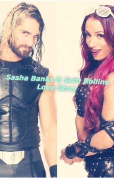 Sasha Banks and Seth Rollins Love Story